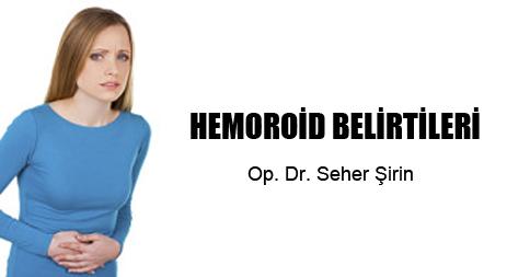 Hemoroid Belirtileri
